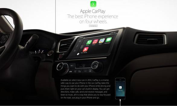 Apple CarPlay: In-car iOS interface to debut at Geneva