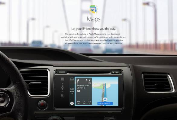 Apple CarPlaymaps