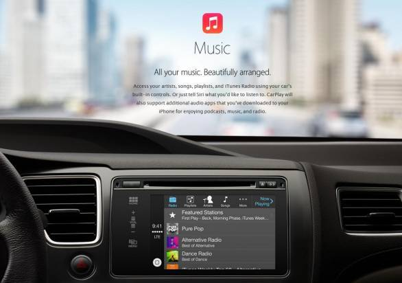 Apple CarPlaymusic