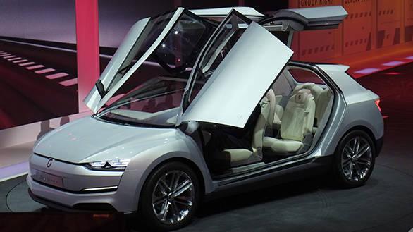 Geneva Auto Show 2014: Six-seater concept MPV Giugiaro Clipper