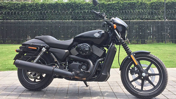 Harley-Davidson Street 750 First Ride