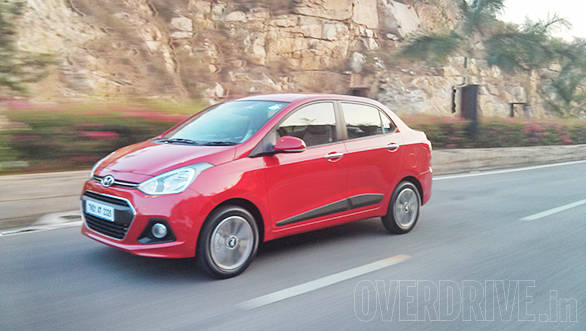 2014 Hyundai Xcent diesel India first drive