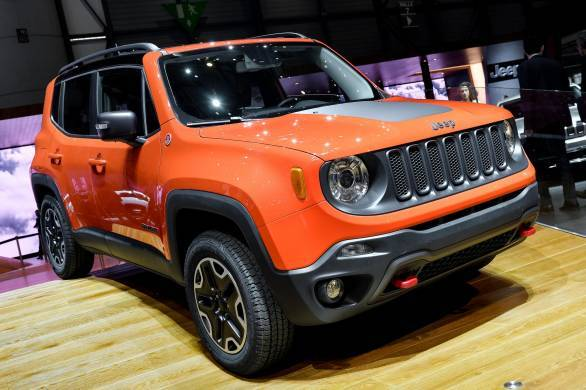 Geneva Auto Expo 2014 India bound 2015 Jeep Renegade unveiled