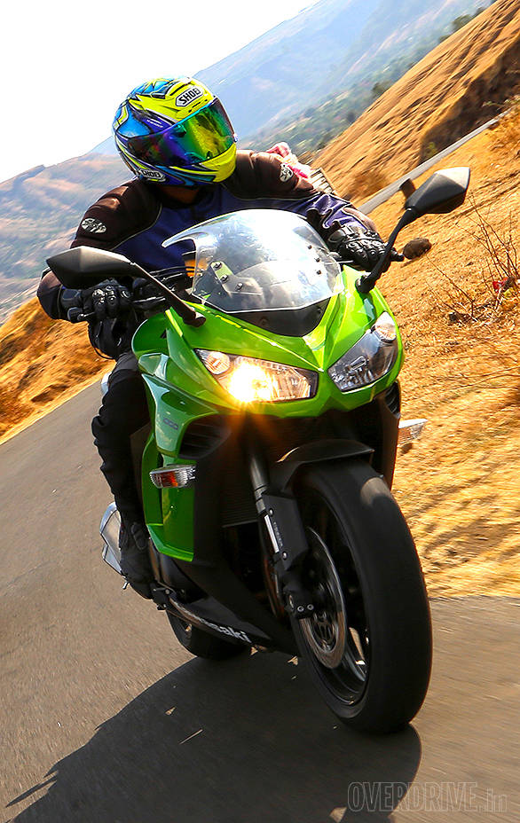 2014 Kawasaki Ninja 1000 India First Ride Overdrive