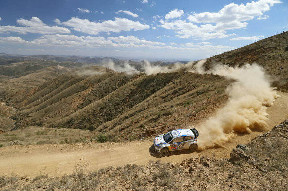 Ogier back to winning ways at Rally Mexico
