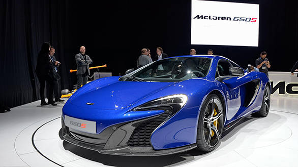 Geneva Auto Show 2014: McLaren launches 650S Coupe and Spider