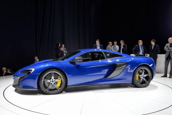 Geneva 2014: McLaren 650S Coupe and Spider pictures and ...