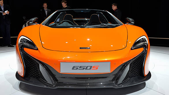 Geneva 2014: McLaren 650S Coupe and Spider pictures and specifications