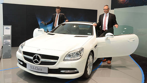 Eberhard Kern, Managing Director and CEO, Mercedes-Benz India & Sanjay Thakker, Chairman Benchmark Cars