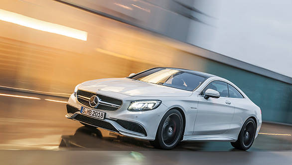 2015 Mercedes S63 AMG coupe unveiled