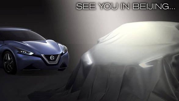 Nissan sedan concept for Beijing