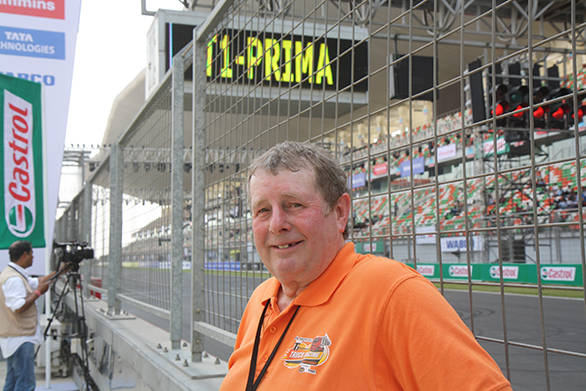 Paul McCumisky, veteran truck racer, has been racing since 1986, and is more than game to come back to the BIC