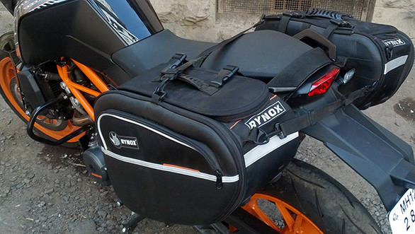 product review: rynox nomad v2 saddlebags - overdrive