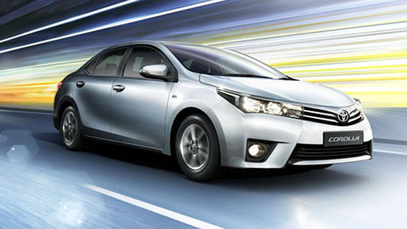 2014 Toyota Corolla Altis bookings open in India