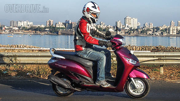2014 Yamaha Alpha India road test