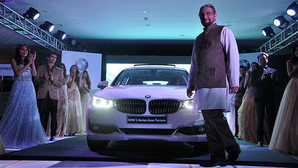 Actor Kabir Bedi at the inauguration of the new BMW 3 GT