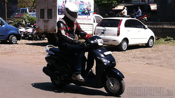 Exclusive: 2014 Yamaha Alpha India first ride