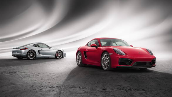 Porsche Cayman GTS pictures and details