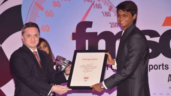 Vishnu Prasad has earned himself a Formula 3 test this year