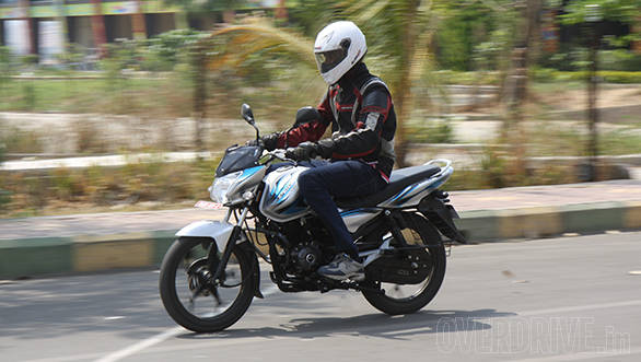 2014 new Bajaj Discover 125M India first ride