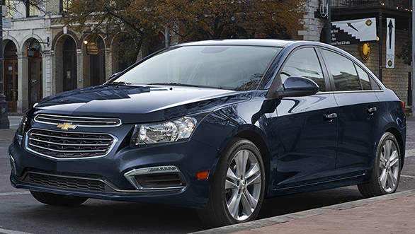 2015 Chevrolet Cruze interiors revealed Overdrive