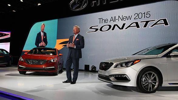2015 Hyundai Sonata debuts at New York Auto Show