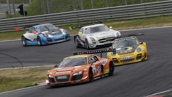 Aditya Patel to compete in the 2014 International GT Open series