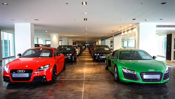 Audi s pre owned luxury car showroom opens in gurgaon for Luxury pre owned motor cars