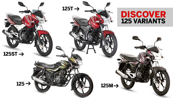 Bajaj Discover 125s: How to tell them apart