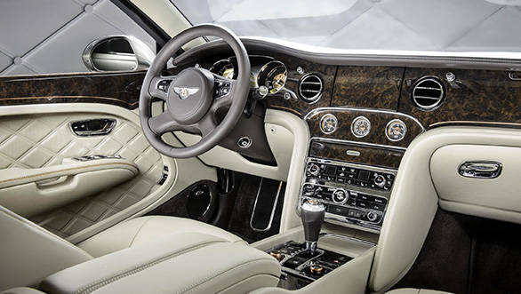 Bentley Mulsanne Hybrid Concept in pictures