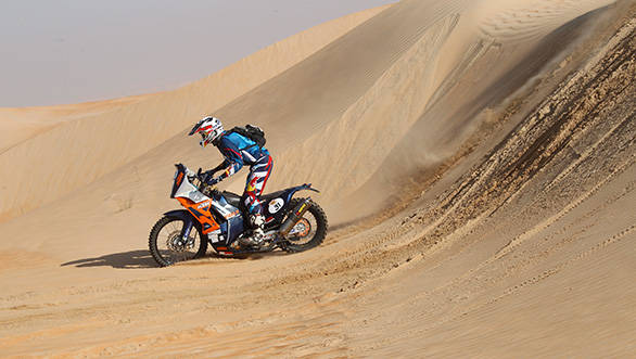 Top 10 finish for Santosh at the Abu Dhabi Desert Challenge 2014