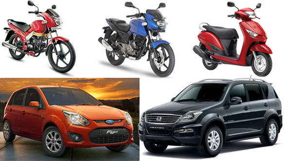 Honda leads car and two-wheeler sales growth in FY 2013-14