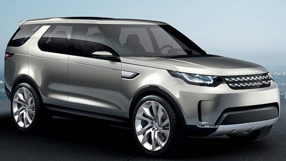 Land Rover unveils Discovery Vision Concept ahead of New York Auto Show 2014