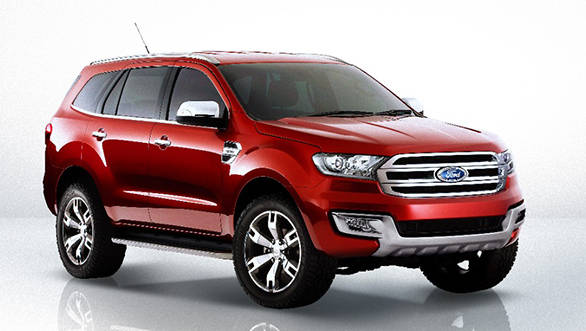Ford Everest Concept SUV