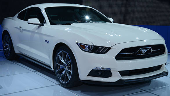 Ford Mustang 50th edition