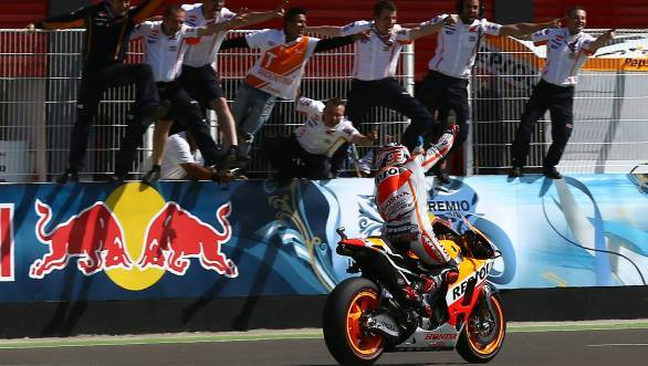 MotoGP 2014: Marc Marquez makes it three wins in a row at Argentina