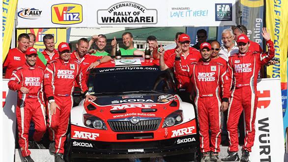 Gaurav Gill wins Rally Whangarei