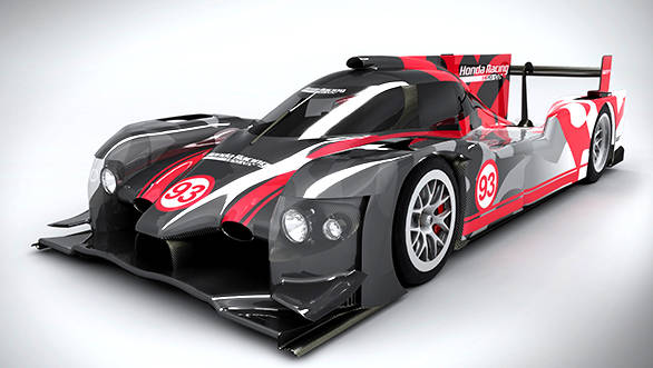 Honda Performance Development unveils its ARX-04b LMP2 Coupe
