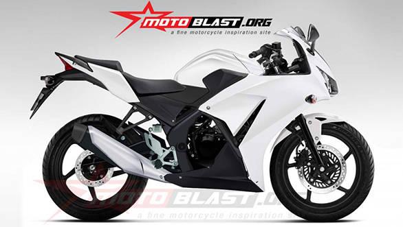 Honda-CBR150R side