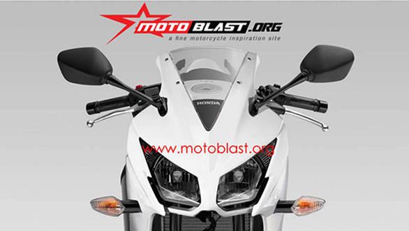 Honda CBR150R facelift to get split headlamps?