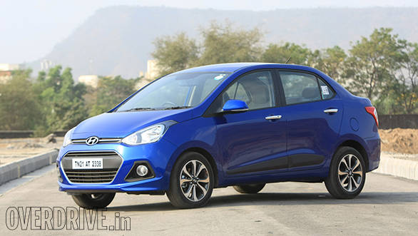 2014 Hyundai Xcent petrol India road test