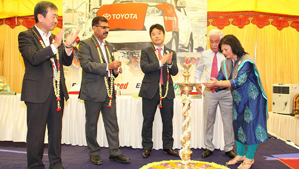 Toyota open second TES outlet in India at Bangalore
