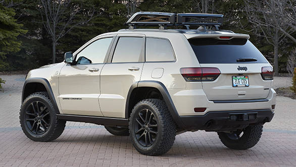 Jeep Grand Cherokee EcoDiesel Trail Warrior is one of six concep