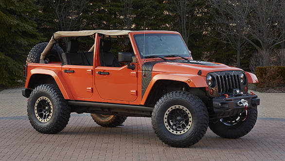 Jeep Wrangler MOJO is one of the six concept vehicles developed