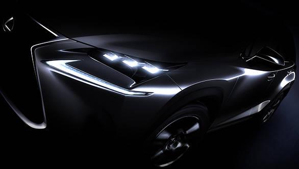 Lexus NX crossover 1