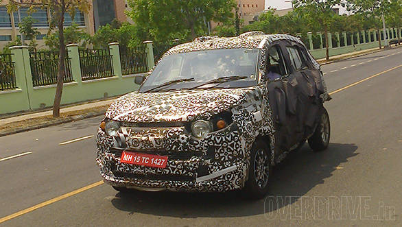 Spied: Mahindra S101 compact SUV caught testing