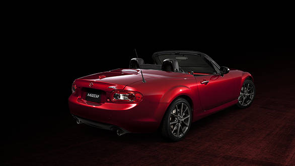 Mazda MX-5_25th_Anniversary_Edition rear