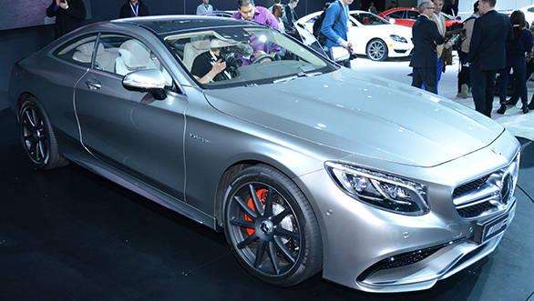 Merc S63 amg coupe