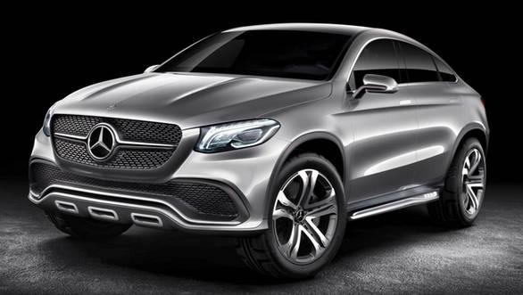 Mercedes Benz Concept Coupe SUV 1