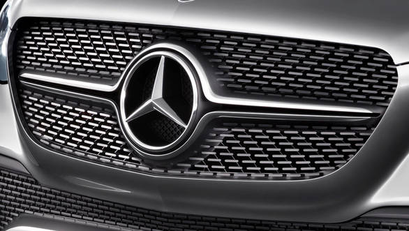 Mercedes Benz Concept Coupe SUV -